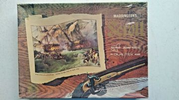 Battle of the First of June 1794 - 700 Piece Scroll Jigsaw By Waddingtons 1960s